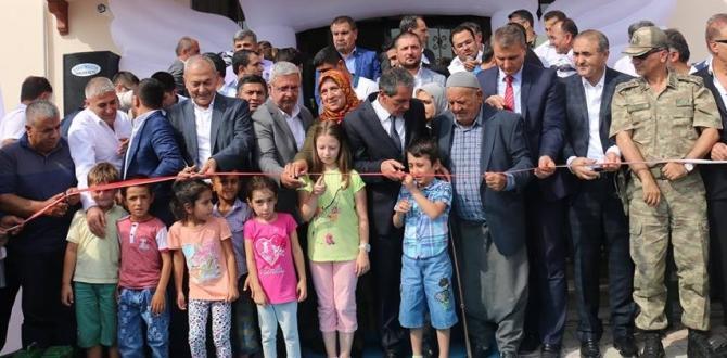 Naze-Bedir Metiner Anaokulu Törenle Açıldı