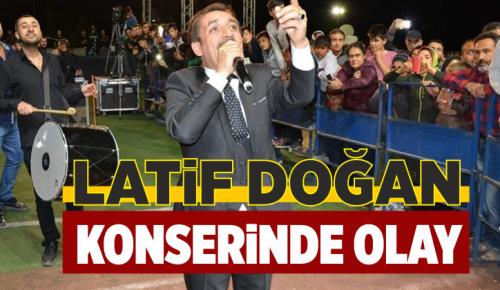 Latif Doğan Konserinde Kavga