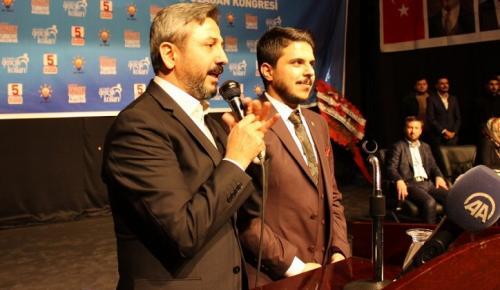 AK Parti Kahta Gençlik Kolları Kongresi Yapıldı
