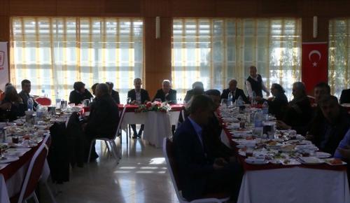 AK Parti Yönetimi Basınla Buluştu