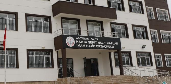 Şehit Nazif Kaplan'ın Adı Okulda Yaşatıldı