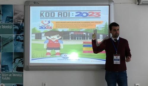 Gençlere KOD ADI 2023 eğitimi
