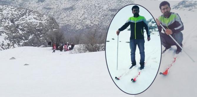 Nemrut Dağı'nda Kayak Keyfi