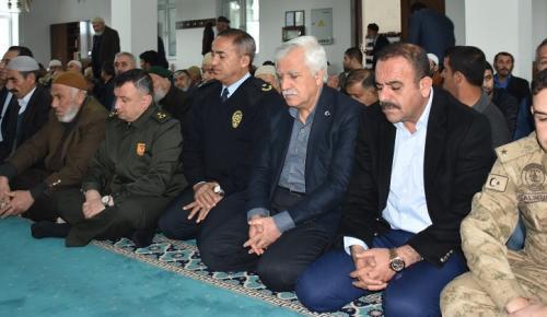 Kahta'da Afrin Şehitleri İçin Mevlit Okutuldu