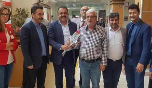 AK Parti'den Tıp Bayramı Ziyareti