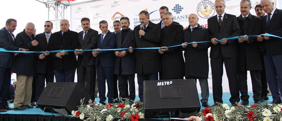 Arıtma Tesisi Törenle Hizmete Açıldı