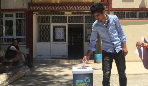 Genç Gönüllülerden Anlamlı Kampanya