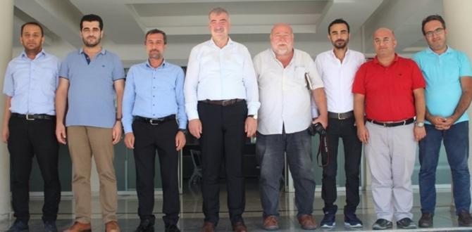 Gazeteciler Başkan Turanlı ile Bir Araya Geldi