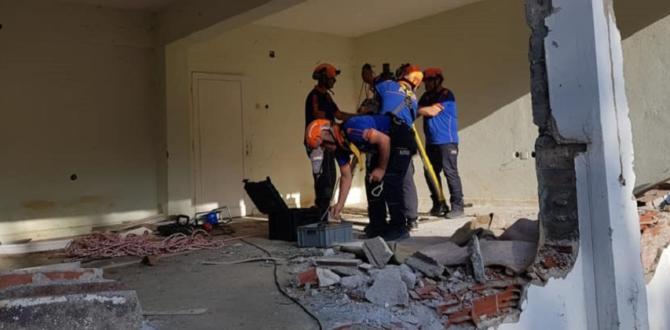 Ulusal TAMP (Deprem) Tatbikatı Başladı