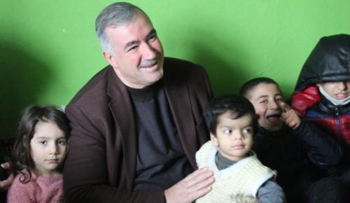 Başkan Turanlı'dan Mağdur Aileye Yardım Eli