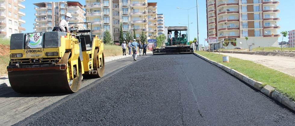 Kahta Belediyesi Asfalt Çalışmalarına Başladı