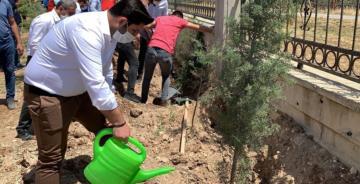 AK Gençlik'ten sağlık çalışanlarına hatıra ormanı