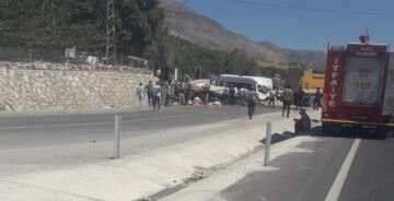 Kahta'da Acı Kaza: 1 Ölü, 19 Yaralı