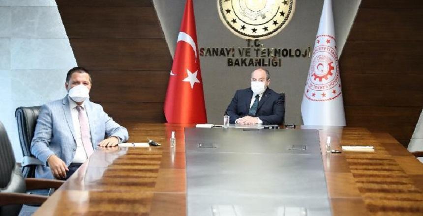 Milletvekili Toprak, Bakan Varank'ı Ziyaret Etti