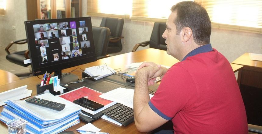 Okul Müdürleri Toplantısı e-Konferans Olarak Yapıldı
