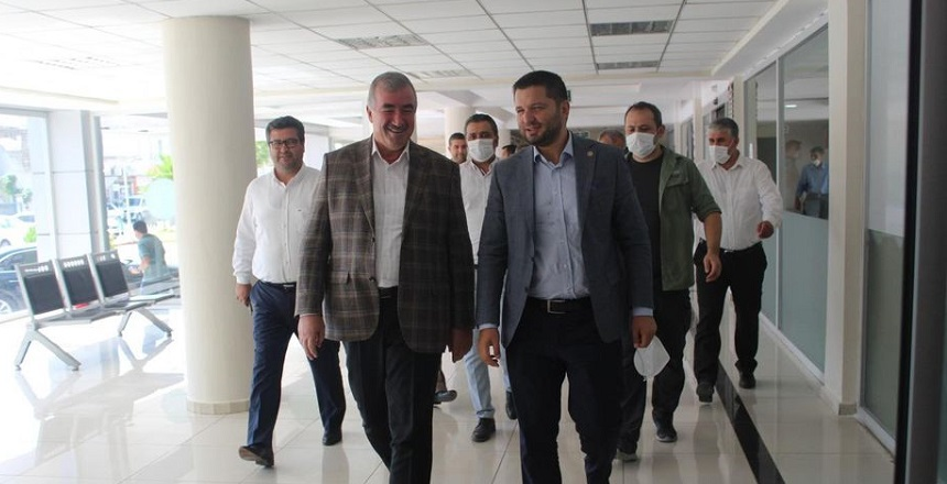Milletvekili Toprak'tan Turanlı'ya Ziyaret